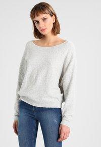 American Vintage - DAMSVILLE - Sweter - gris chine - 0