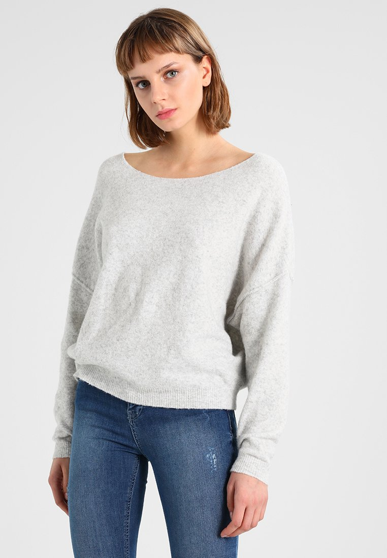 American Vintage - DAMSVILLE - Sweter - gris chine