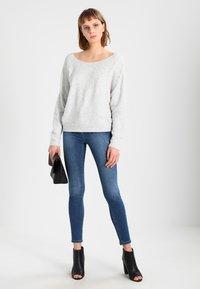 American Vintage - DAMSVILLE - Sweter - gris chine - 1