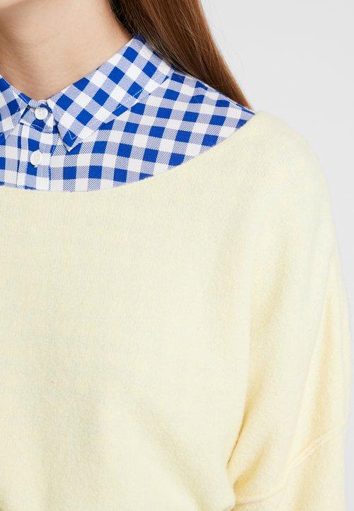 American Vintage DAMSVILLE - Sweter - yellow Odzież Damska GSQY-EC3 85% ZNIŻKI