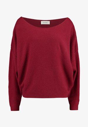 DAMSVILLE - Stickad tröja - bordeau
