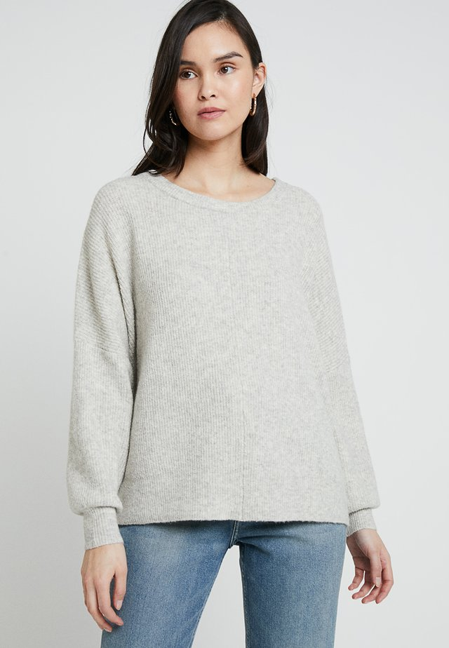 WOPY SLOUCHY JUMPER - Strickpullover - mineral chine