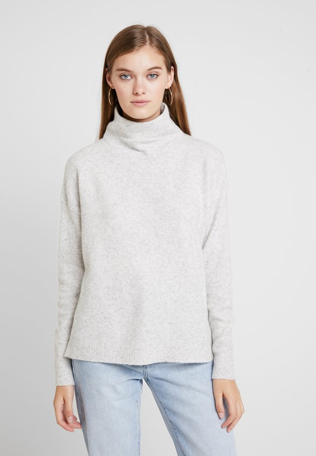 DAMSVILLE - Stickad tröja - gris chine