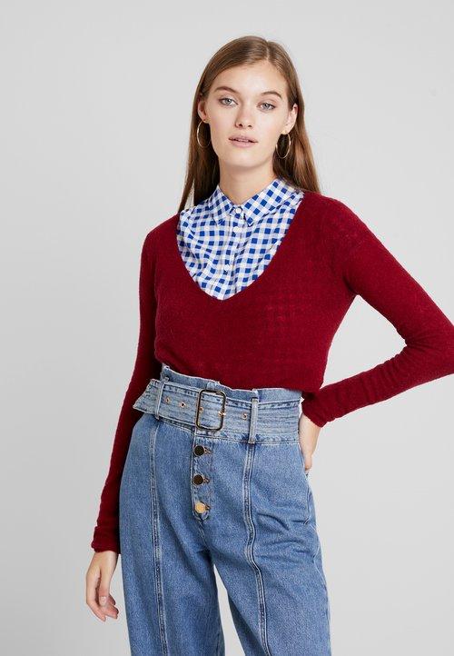 American Vintage NANIBEACH - Sweter - muscat Odzież Damska OWJN-QV4 nowy