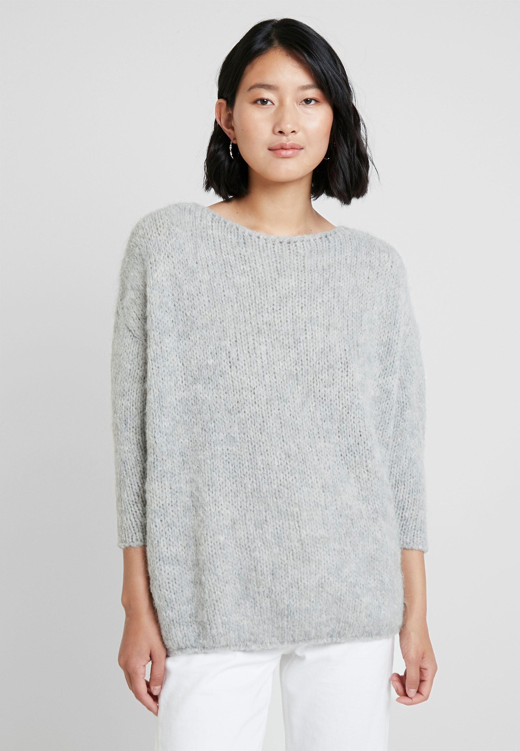 American Vintage BOOLDER - Sweter - light grey