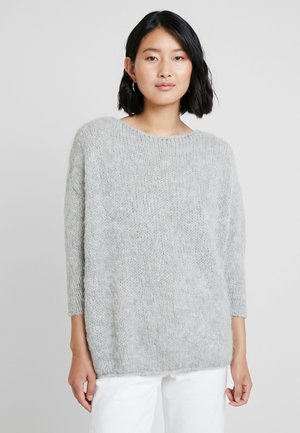 BOOLDER - Strikkegenser - light grey