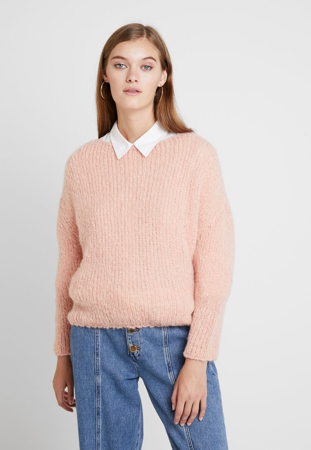 BOOLDER - Pullover - camelia
