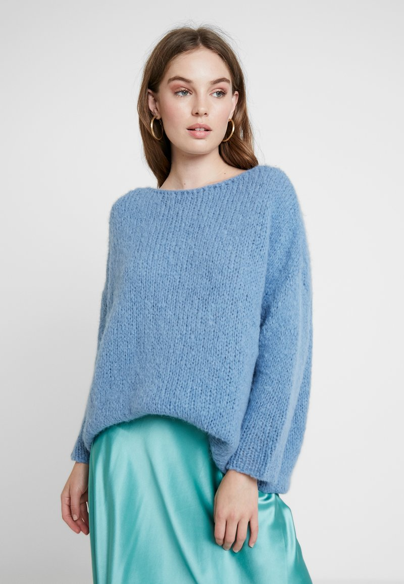 American Vintage - BOOLDER - Pullover - bleu horizon