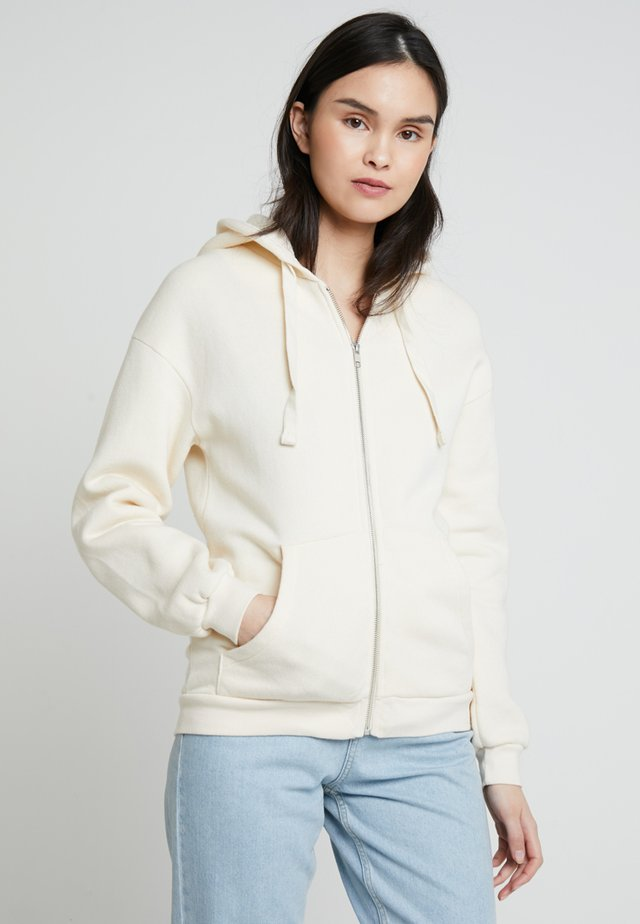 KINOUBA ZIP UP HOODY - Collegetakki - cheesecake