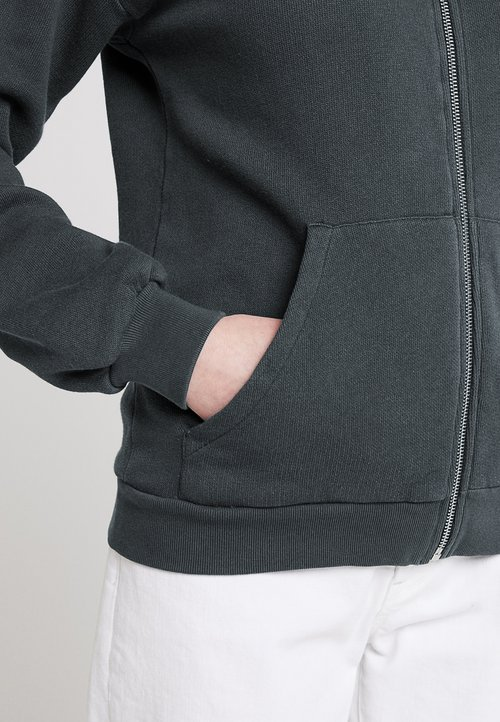 dobra jakość American Vintage KINOUBA ZIP UP HOODY - Bluza rozpinana - carbone Odzież Damska ILDW-LT5