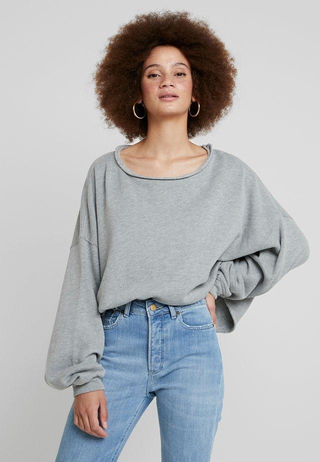 RETBURG - Sweatshirt - gris chine