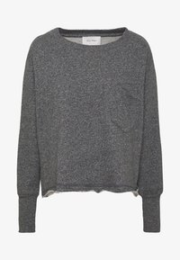 American Vintage - POMITREE - Sweater - anthracite chine - 3