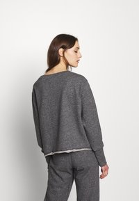 American Vintage - POMITREE - Sweater - anthracite chine - 2
