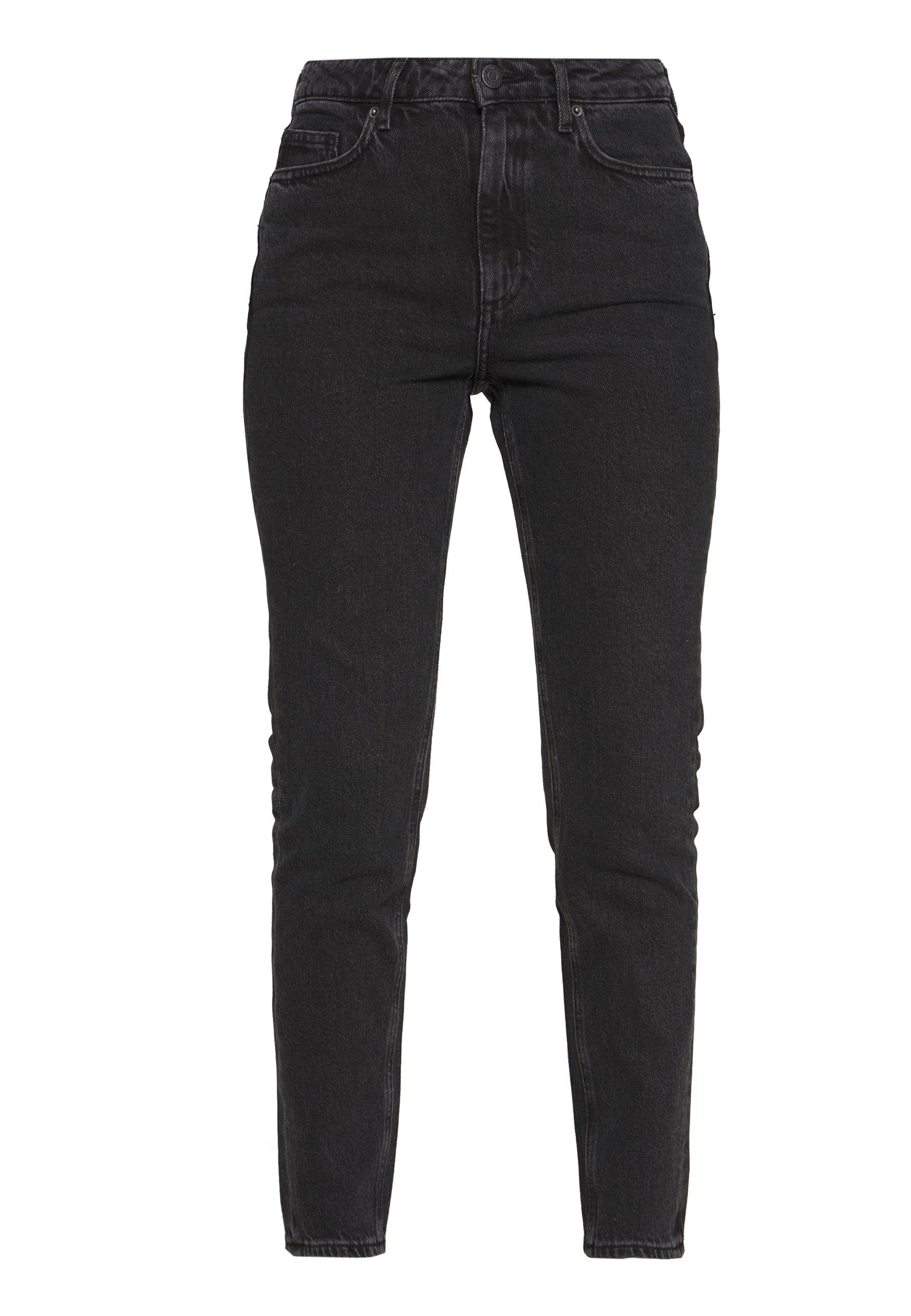 American Vintage YOPDAY - Jeansy Straight Leg - black denim