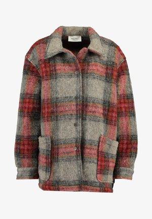 ZALIROW - Płaszcz wełniany /Płaszcz klasyczny - rouge/gris