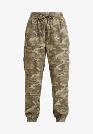 SOFT JOGGER CAMO - Trousers - green
