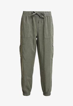 SOFT STORES - Pantaloni - olive