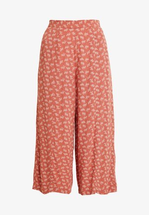 CULOTTE PANT - Trousers - rust
