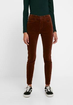 Trousers - medium brown