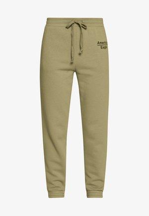 GRAPHIC JOGGER - Spodnie treningowe - green