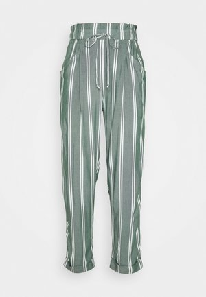 CHAIN TAPER STRIPE  - Trousers - olive