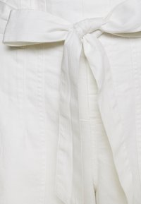 American Eagle - PAPERBAG WIDE LEG PANTS - Trousers - white - 2