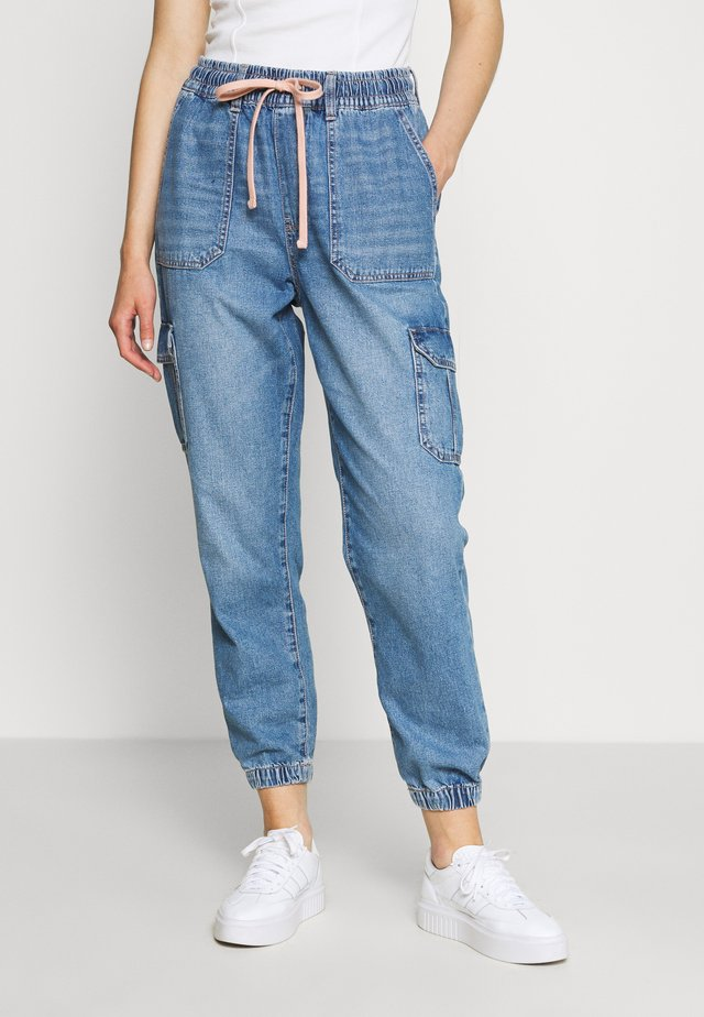 JOGGER - Jeansy Relaxed Fit - empire blue