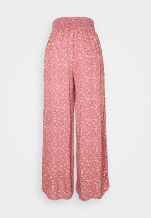 EASY PANTS - Pantaloni - berry