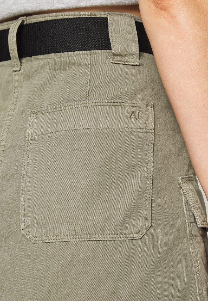 American Eagle ALINE SKIRT - Gonna a campana - hiker olive QTMEwD vendita online