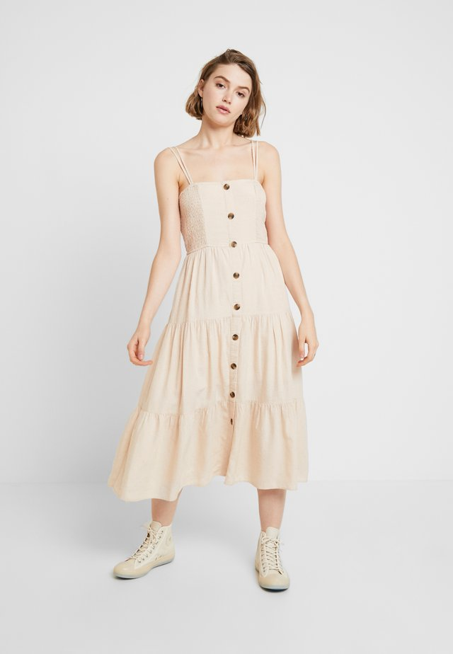 OLIVE TIER - Day dress - natural