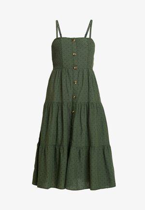OLIVE TIER - Robe d'été - bunker olive