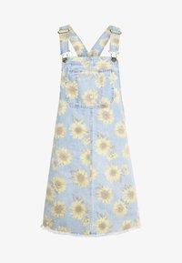 American Eagle - SUNFLOWER SKIRTALL - Denimové šaty - floral - 4