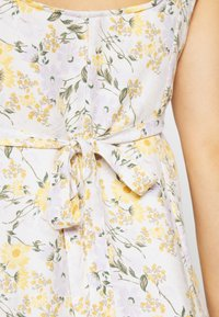 American Eagle - LINED TIE BACK MINI DRESS - Day dress - cream - 5