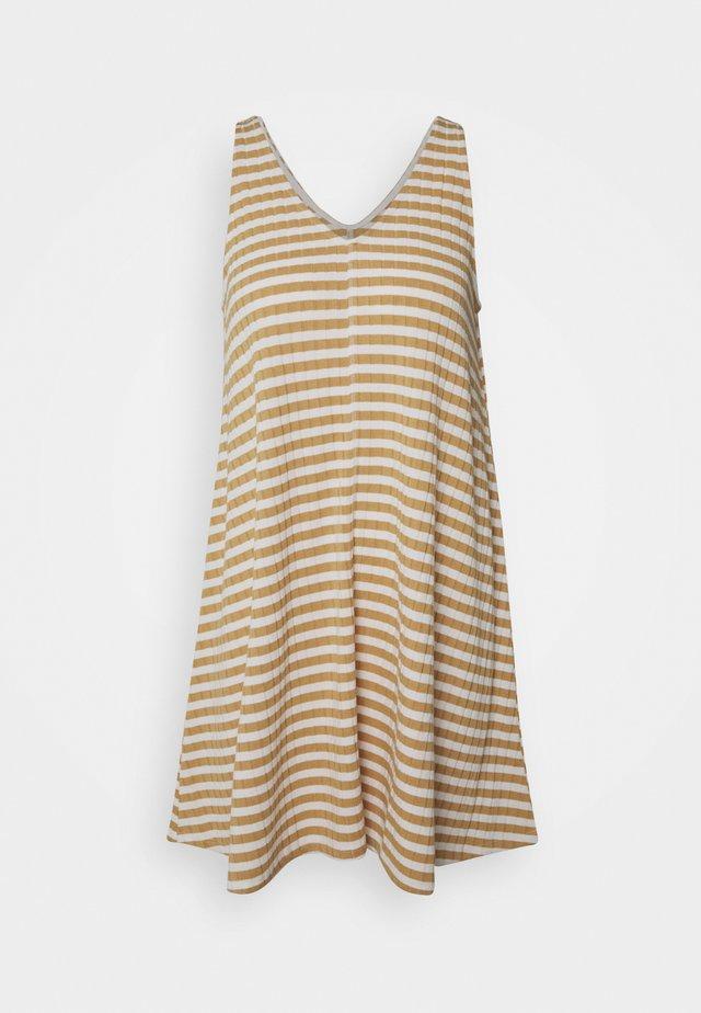 EASY SIWING DRESS - Sukienka z dżerseju - yellow