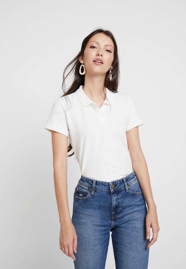SOLIDS - Poloshirt - natural white