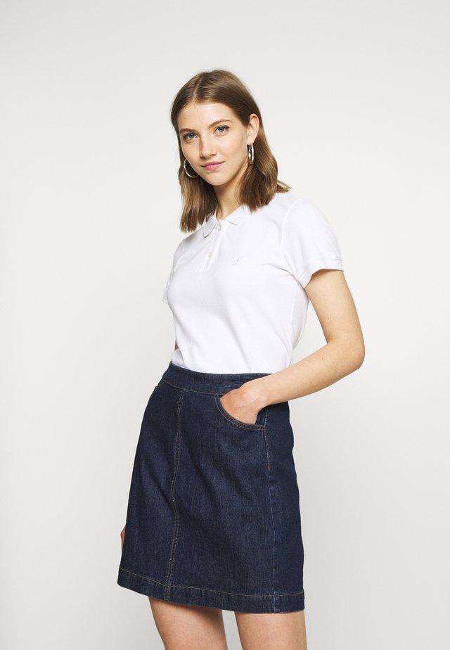 SOLIDS - Poloshirt - white