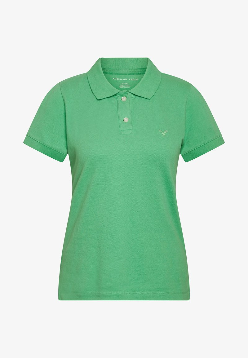 American Eagle SOLIDS - Polo - green lqiFwA fashion style