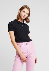 American Eagle - SOLIDS - Poloshirt - black - 0