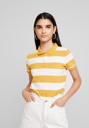 STRIPES - Polo - yellow