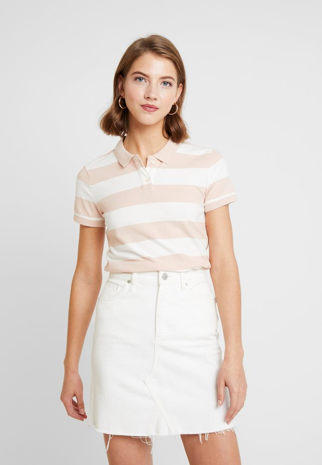 STRIPES - Poloshirt - blush