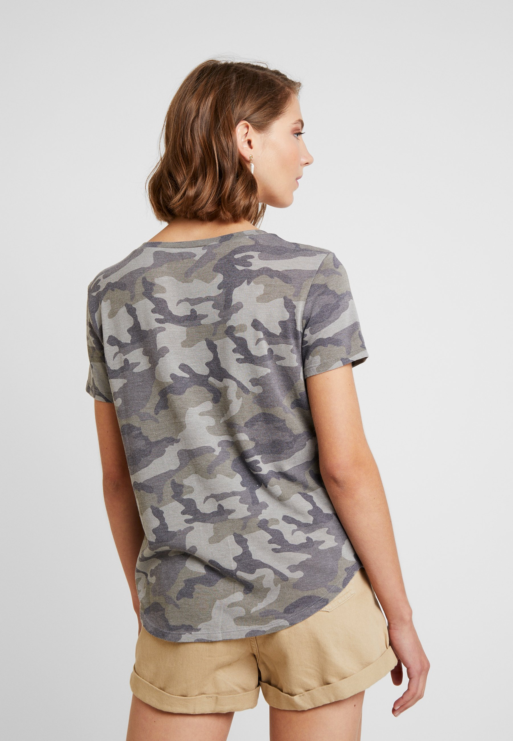 Favorite Eagle Tee Stampa Olive American Con CamoT shirt W2YEH9ID