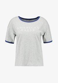 American Eagle - LOGO SANTA MONICA RINGER TEE - T-shirt imprimé - gray - 3