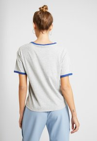 American Eagle - LOGO SANTA MONICA RINGER TEE - T-shirt imprimé - gray - 2