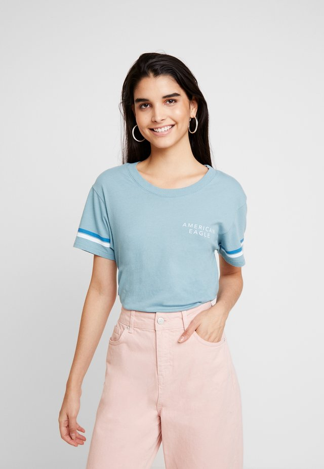 LOGO TEE - T-Shirt print - teal