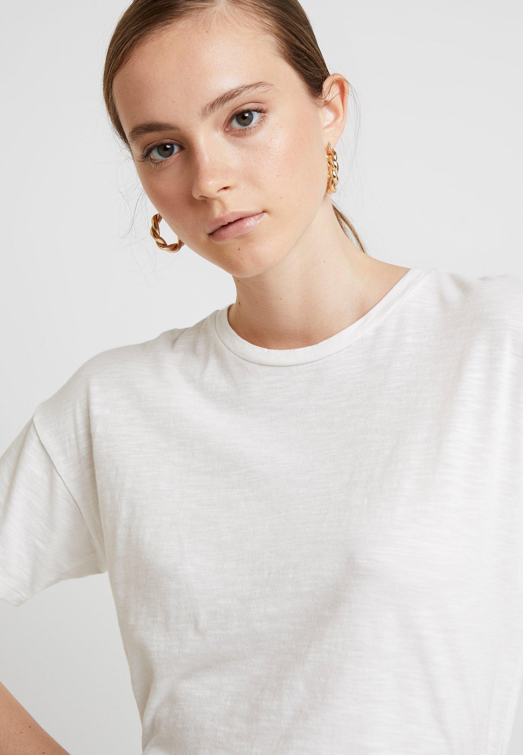 Crop TeeT Natural Boxy White American Eagle Basic shirt Yvbf76yg
