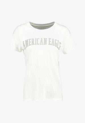 CLASSIC TEE - T-shirt con stampa - cream