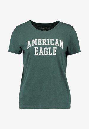 CLASSIC TEE - T-shirt z nadrukiem - green