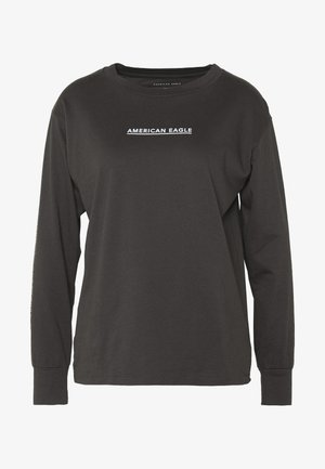 BRANDED URBAN TEE - Topper langermet - anthrazit