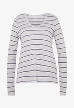 STRIPES - Long sleeved top - gray