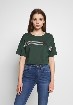 OVERSIZED TEE - T-shirt con stampa - green